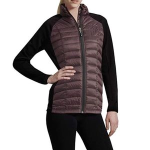 32 DEGREES Eggplant Weatherproof Down Jacket M
